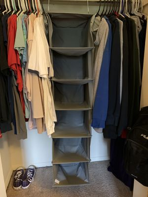 Hanging Closet Organizer for Sale in Woodbridge, VA