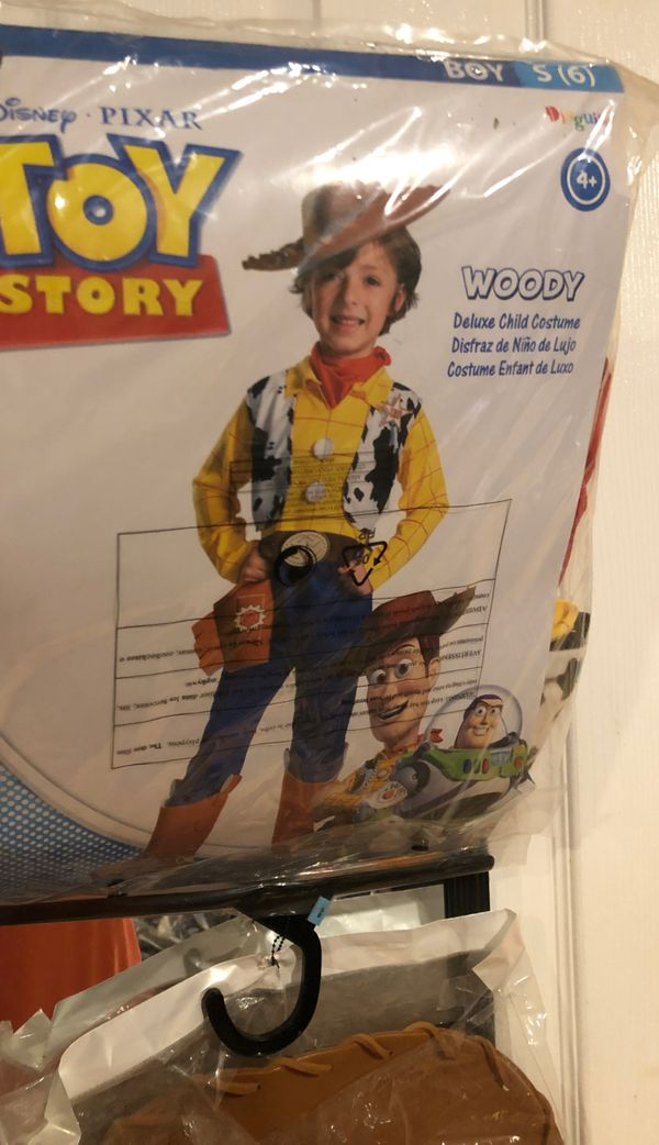 Toy story Boys 6 Woody costume