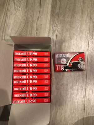 Maxell casssette; 10 pack, new in package for Sale in Tampa, FL
