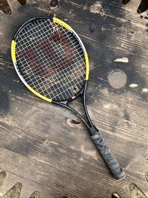 Wilson Match Point Soft Shock Titanium Racket for Sale in Centennial, CO