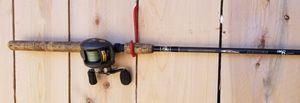 ($80) BASS PRO SHOP BAITCASTER ROD AND REEL COMBO for Sale in Stockton, CA