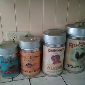 Metal Kitchen Container Set for Sale in Oakland, CA