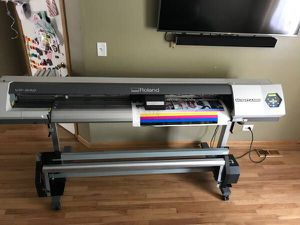 "Roland VersaCamm VP-540 Eco Solvent Print/Cut 54"" Wide Plotter for Sale in Palos Heights, IL"