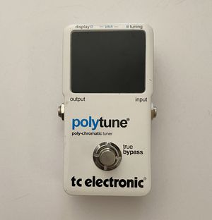 TC Electronic Polytune Guitar Tuning Pedal for Sale in Rockville, MD