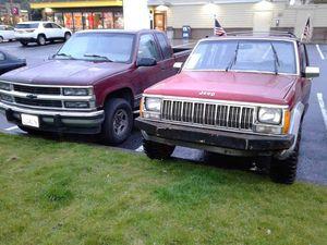 92 jeep Cherokee parts for Sale in Washougal, WA