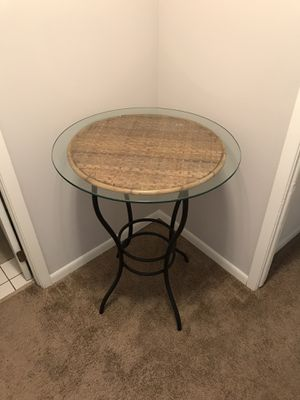 Glass Top Table for Sale in Bloomington, IL