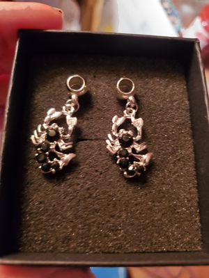 New Silver Plated Pendants set of 2 Scorpions for Sale in Memphis, TN