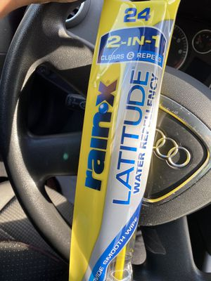 "Rain X Windshield Wiper Blade Replacements 24"" 20"" for Sale in Fort Lauderdale, FL"