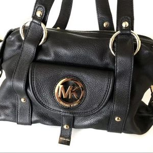 Michael Kors leather Black Bag for Sale in Downey, CA