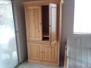 Beautiful Pine Armoire/TV cabinet for Sale in Hemet, CA