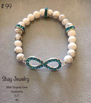 Women's beaded bracelet with silver charm for Sale in Nashville, TN