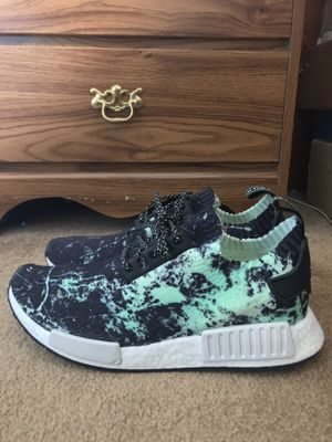 """Adidas NMD R1 Pk """"Green Marble"""" for Sale in Bensalem, PA"""
