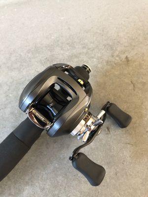 Daiwa Steez Megabass Fishing reel for Sale in Silverado, CA