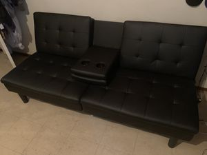 Black Futon Set for Sale in Chula Vista, CA
