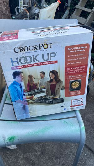 Crockpot hook up unit can connect up to 6 units all together for Sale in Redwood City, CA