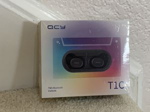Brand new in box QCY bluetooth wireless earbuds for Sale in Pinole, CA