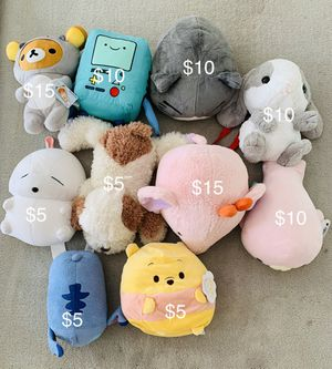Various Cute Plushies for Sale in San Diego, CA