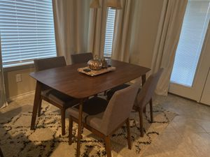 Breakfast table and 4 chairs for Sale in Corinth, TX
