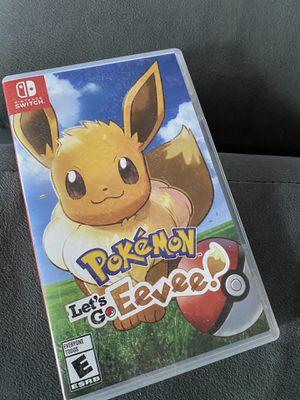 Pokémon Lets Go Eevee for Sale in Fontana, CA