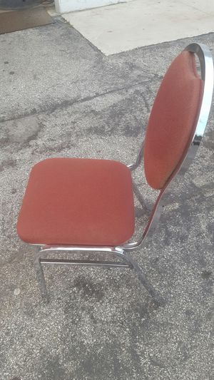 Burgundy chairs for sale 6.99 each only for Sale in Miami, FL