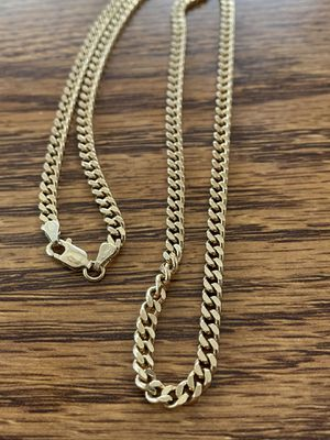925 silver chain gold plated for Sale in Phoenix, AZ