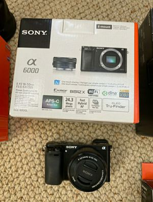 Sony a 6000 combo for Sale in San Diego, CA