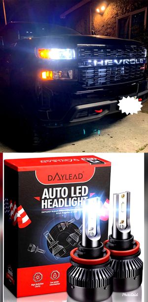 9003/9004/9005/9006/9007/9012 Super bright led headlights/fog lights for any car $25 for Sale in Commerce, CA