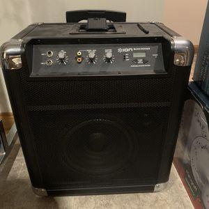 ION Audio Block Rocker Speaker/Karoke System iPA76A for Sale in Lorain, OH