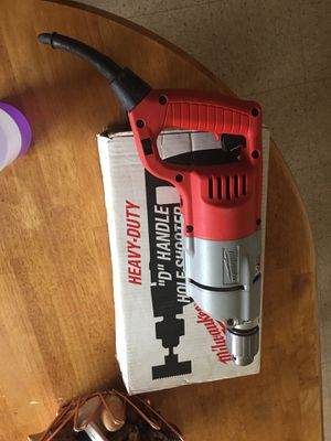 "MILWAUKEE 1250-1 HEAVY DUTY 1/2"" ""D"" HANDLE DRILL for Sale in Attleboro, MA"