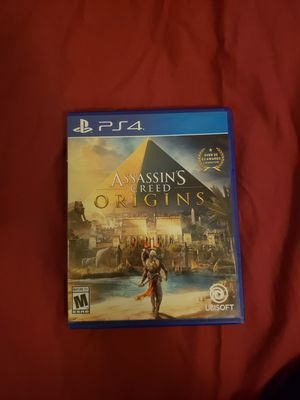 Ps4 Game Assassin creed origins for Sale in New York, NY