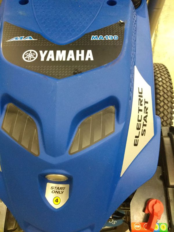 Pressure washer 3100 psi. 2.4 gpm