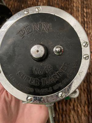 Vintage Penn reel - No. 49 Super Mariner for Sale in Rockville Centre, NY