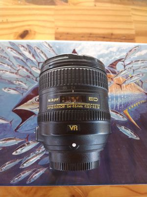 Nikon Lens AF-S Nikkor 24-85mm ED VR f/3.5-4.5G FX for Sale in Davie, FL