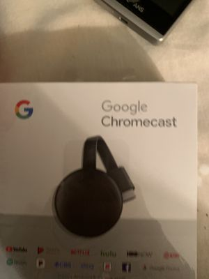 Google chromecast in box for Sale in Holiday, FL