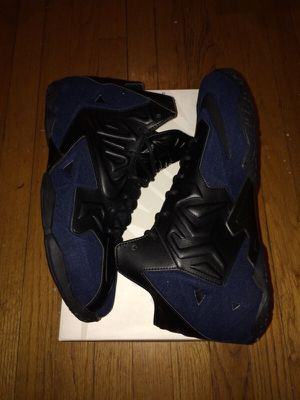 Nike Lebron 11 Denim EXT Sz. 11.5 for Sale in Chicago, IL