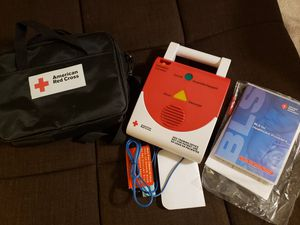 CPR Manikins Adult, Infant, and AED Like New for Sale in Ontario, CA