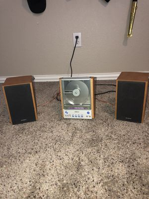 Brand new SONY CMT - EX1 stereo system for Sale in Leander, TX
