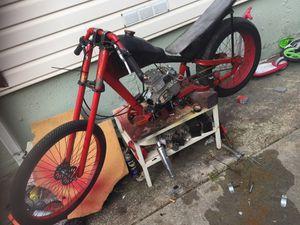 80cc Custom Schwinn Stingray-Thailand Style DragBike Bike CAStreet Legal $400 obo for Sale in Daly City, CA