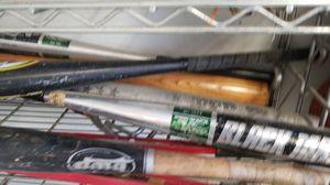 Bats and baseballs for Sale in Miami, FL