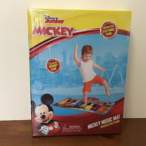 NEW! Disney Junior Mickey Music Mat Step On Musical Toy Mat for Sale in St. Louis, MO