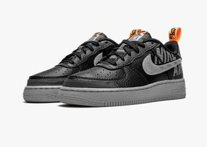 Nike Air Force 1 LV8 2 GS AF1 Black Grey 6.5Y (Women 8) Shoe Sneaker BQ5484-001 New with box for Sale in French Creek, WV