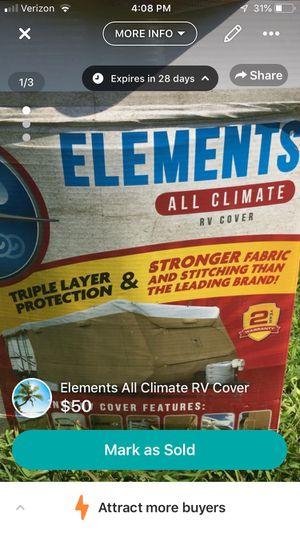 Elements All Climate RV Cover for Sale in Millsboro, DE
