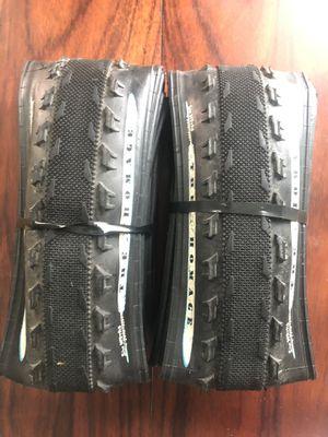 Pair of Sim works 650Bx43 Homage tires Black for Sale in Austin, TX