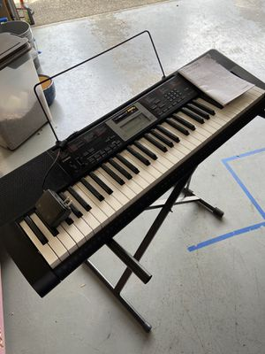 Casio Keyboard for Sale in Puyallup, WA