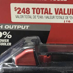Milwaukee m18 2 pack 6.0 for Sale in S CHEEK, NY