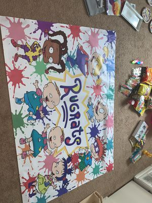 Rugrat 3 year old party decorations, EVERYTHING NEW for Sale in Harrisburg, PA