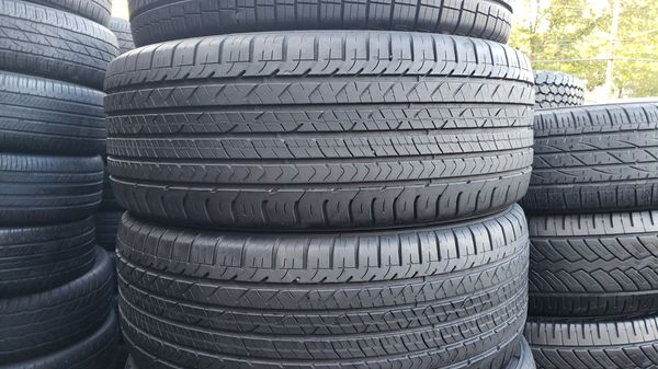 Full set of tires with size 285/45/22