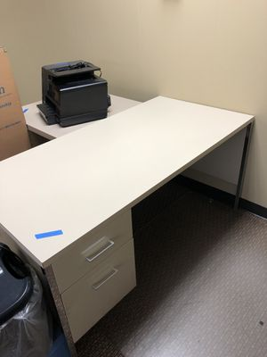 Steelcase standard desk and cabinet for Sale in Bloomfield Hills, MI