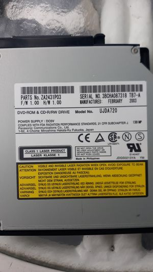Laptop plug-in play DVD ROM CD-R/ RW Drive for Sale in Winter Park, FL