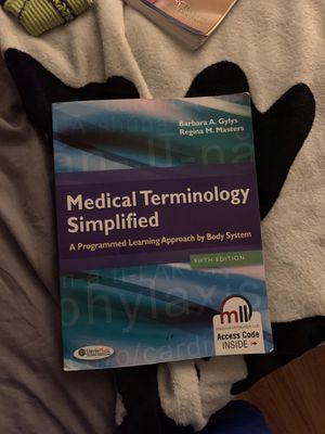 Medical terminology simplified 5th edition for Sale in Windsor, CT